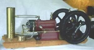 HANDCRAFTED GOULD SHAPLEY MUIR MODEL ENGINE (WORKING)