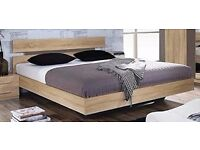 RAUCH - DOUBLE BED with Bed Slats