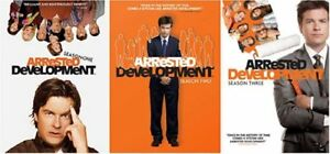 Arrested Development: The Complete Series (Seasons 1-3 DVD BNIB)