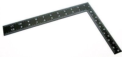 """Large 8"""" x 12"""" steel roofing square framing carpenter measure metric imperial"""