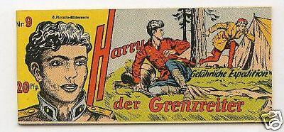 Harry der Grenzreiter Nr 9 Original Lehning 1953 (0-1) wie Verlagsneu