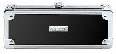 Vaultz Locking Mini Supply Box, Key Lock, 8.25 x 2.5 x 3.5 Inches, Black