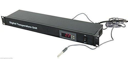 Raising Electronics Rack Mount Server Digital Temperature Control Unit 110V 1U