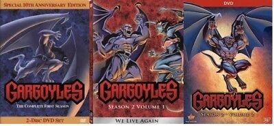 GARGOYLES - TV Series Complete Seasons 1&2 DVD Set BRAND NEW Free Ship