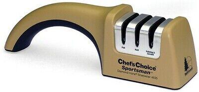 Chefs Choice 4635 Sportsman Manual Diamond Hone 3 Stage Knife Sharpener Chefs Choice Diamond Hone Manual