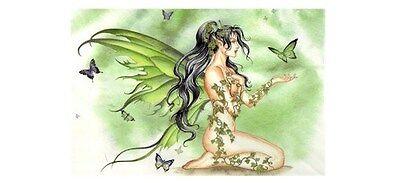 NENE THOMAS ~ VINES FAIRY 24x36 FANTASY ART POSTER Butterfly NEW/ROLLED!