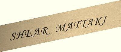 Shear Mattaki