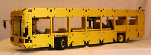 "LEGO To scale LEGO city bus Measuring 30"" long, by 7"" tall and 6"