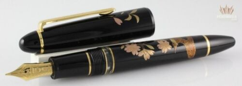 Sailor Limited Edition 1911 Realo Hana Maki-e Sakura Fountain Pen Magnificent !!
