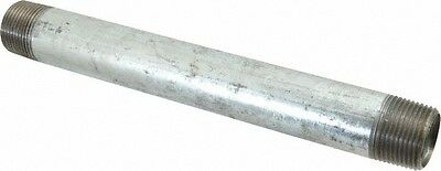 1 Galvanized Steel 8 Long Nipple Fitting Pipe Npt 1 X 8 Malleable Iron