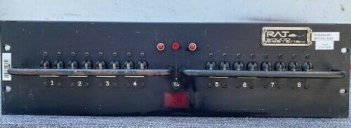 Power Distro - Rack Mount 3U Three Phase In, 8 Single Phase Outs