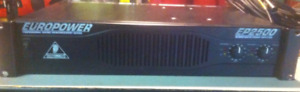 Behringer EuroPower EP2500 Power Amp $300.00 Each