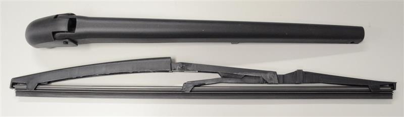 Heckscheibenwischerarm und Wischerblatt Rear Wiper für FIAT PANDA 169 VAN