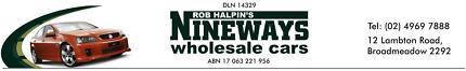 Nineways Wholesale Cars