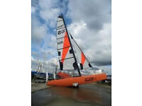 Catamaran Topper Topaz 16CX sailing dinghy - MAY P/X