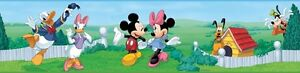 MICKEY MOUSE Wall Border Baby Nursery or Kids Room Peel & Stick Wallpaper Decal