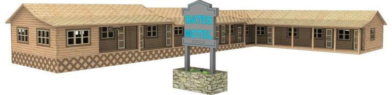 Bates Motel - Life - like 3D Model