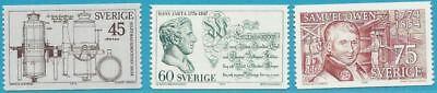 Schweden aus 1974 ** postfrisch MiNr.841-843 - Jahrestage!