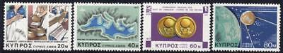 Cyprus MNH 1977 SG493-96 Anniversaries and Events