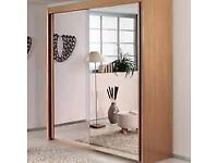 QUICK SALE - Ranch White Imperial Sliding Doors Wardrobe