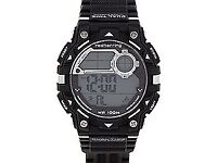 mens digital red herring watch ( needs to pins on one end of strap) £15