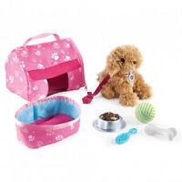 NEW: Newberry 'Puppy Pouch' Doll's Pet Set
