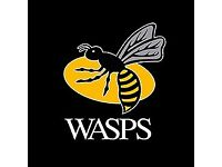 Wasps v Worcester Youth (17-21) Ticket Saturday 14th