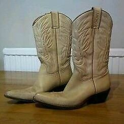 Ladies leather boots 'Sancho' size 5