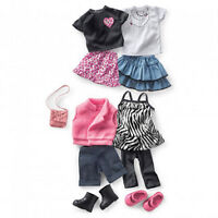 "NEW: 18"" FASHION DOLLS OUTFITS & ACCESSORIES"