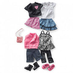 """NEW: 18"""" FASHION DOLLS OUTFITS & ACCESSORIES"""