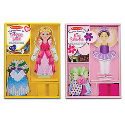 NEW: Melissa & Doug Magnetic Dress Up Bundle