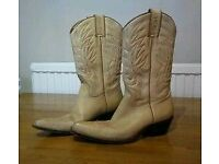 Sancho ladies leather boots size 5