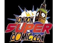 A Pair of London Super Comic Convention Tickets