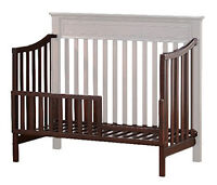 Brown Solid Wood Baby Crib/Daybed Parts