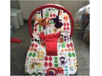 Mamas and papas bouncy/vibrating chair