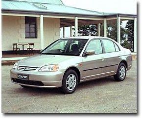 Quick Sell 2002 Honda Civic Sedan Pendle Hill Sydney NSW Pendle Hill Parramatta Area Preview