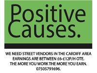 PositiveCauses (paid daily)