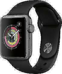 Apple Watch 3, 42MM, GPS, Space Grey - Openbox Macleod - 0% Financing Available
