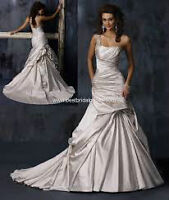"""BEAUTIFUL MAGGIE SOTTERO GOWN """"FIORELLA"""" With VEIL!"""