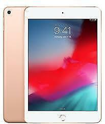 Apple iPad Mini 5 , 64 GB , Wi-Fi only , Color - Gold  brand new sealed with 1 year apple warranty.