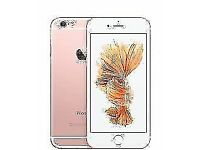 IPHONE 6S 32GB UNLOCKED - BLACK FRONT / ROSE GOLD BACK