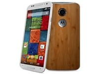Motorola Moto X 2nd generation, comes with unused tempered glass screen protector