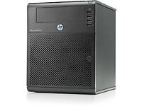 HP ProLiant G7 N54L 2.2GHz MicroServer + 3.2tb Hdd
