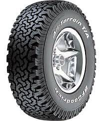We will Price Match any online deal on BF Goodrich All-Terrain