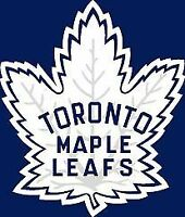 2015 Toronto Maple Leafs Season Tickets