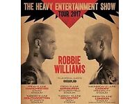 2no. tickets for Robbie Williams at St Marys Stadium , Southampton