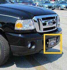 2008 2011 Ford Ranger Front License Plate Holder 8l5z