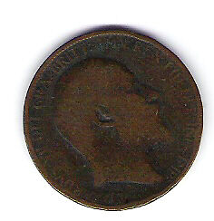 Coin 1907 Great Britain 1/2 Cent Penny Kingston Kingston Area image 1