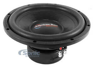 """American Bass High Performance 12"""" Subwoofer DX-12 400 Watts RMS"""