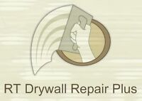 RT Drywall Repair PLUS Plastering / Painting / Stipple Spray